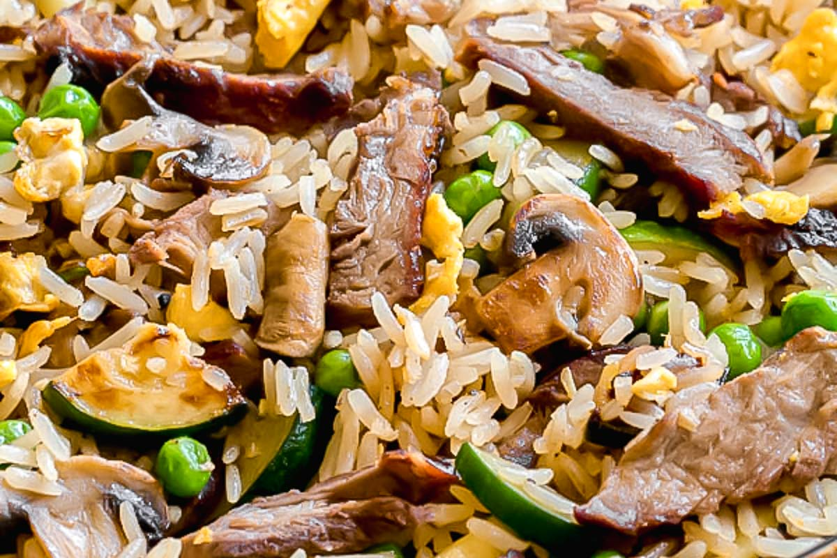 Leftover Steak Fried Rice Busy Cooks