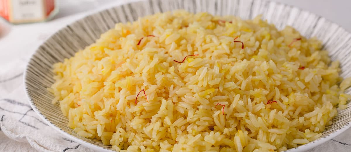 5 Ingredient Saffron Rice Busy Cooks