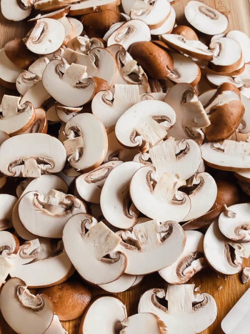 Easy side dish for many meals! #mushrooms #sidedish
