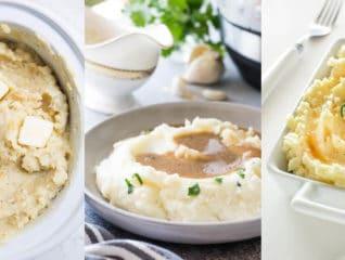 Ultimate mashed potatoes recipe collection. #mashedpotatoes #sidedish #ThanksgivingSides