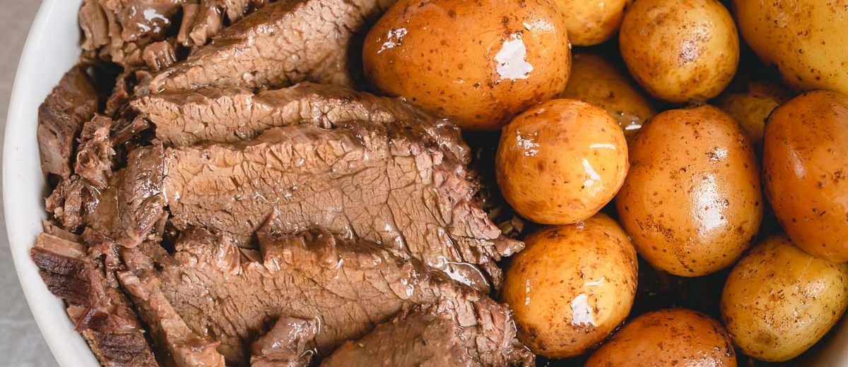 Instant Pot Pot Roast With Potatoes And Barley Busy Cooks