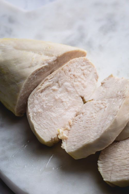 Let me teach you how to cook frozen chicken breast in Instant Pot in minutes! This deliciously quick and easy method produces juicy, tender and flavorful all-purpose chicken. #frozenchickenbreast #InstantPotrecipe #Instantpotchicken