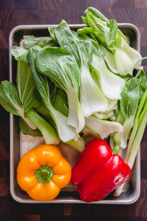 Vegetables to use for a stir fry