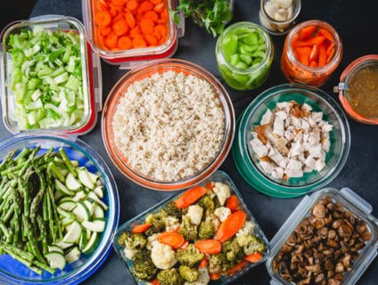 How to meal prep for the week - time-saving tips and smart shortcuts to get dinner on the table in minumum time. All you need is 2 hours of meal prep!