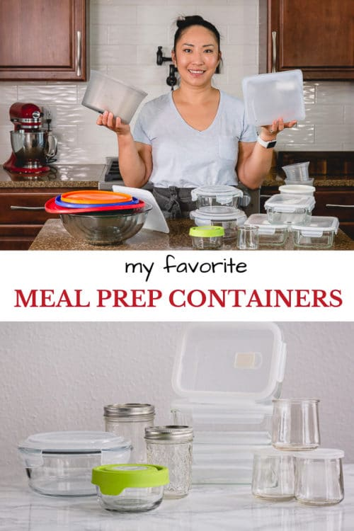 These are the best meal prep containers from my experience. Time-tested, durable and versatile food storage containers for everyday use!
